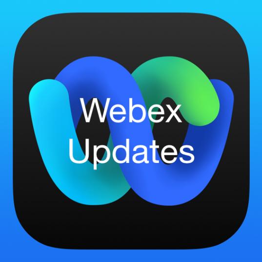 WebexupdatesLogo